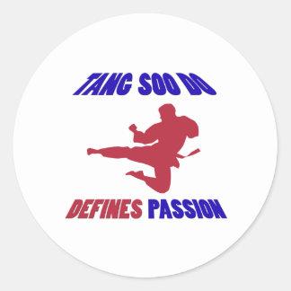 Tang Soo Do Design Classic Round Sticker