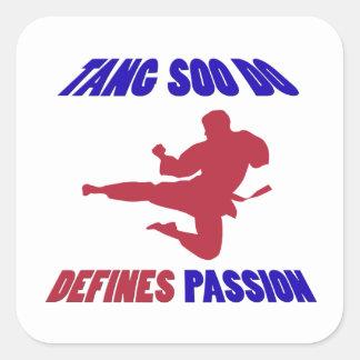 Tang Soo Do Design Square Sticker