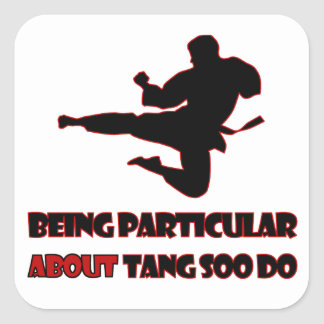 Tang Soo Do   Designs Square Sticker