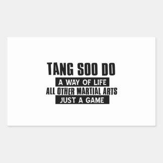 Tang Soo Do gifts Rectangular Sticker