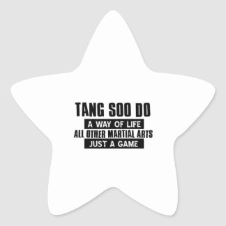 Tang Soo Do gifts Star Sticker