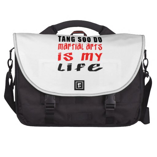 Tang Soo do is my life Laptop Bags