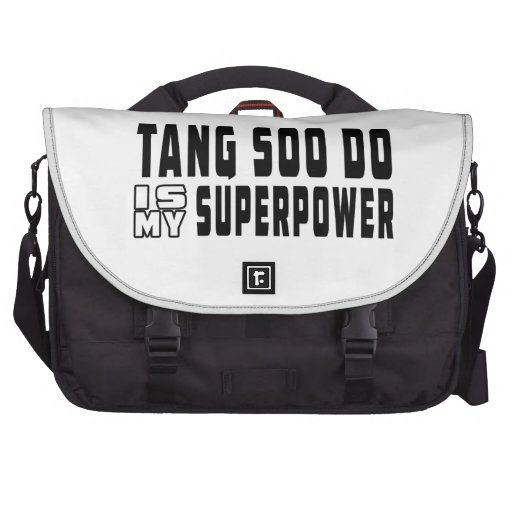 Tang Soo do is my superpower Laptop Commuter Bag