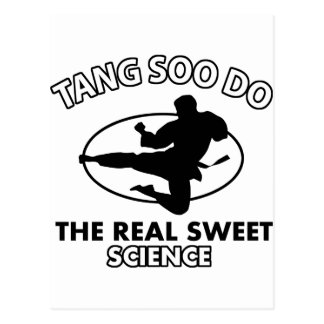 Tang Soo Do Martial Arts Designs Postcard