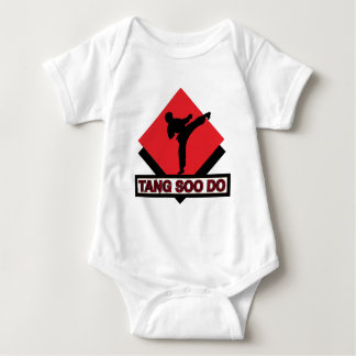 Tang Soo Do red diamond Baby Bodysuit