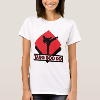Tang Soo Do red diamond T-Shirt