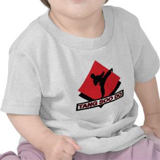 Tang Soo Do red diamond T-shirt