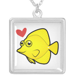 Tang / Surgeonfish Love 1 Necklaces