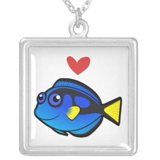 Tang / Surgeonfish Love 2 Custom Necklace