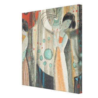 Tang Women Stretched Canvas Print