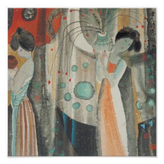 Tang Women Print