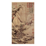 Tang Yin - Brightening after snow in a mountain Print