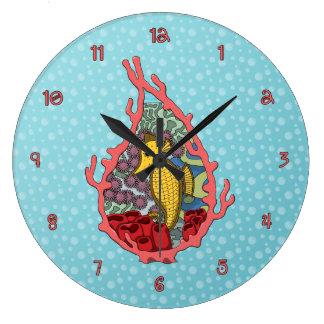 Tanga the Seahorse Clock