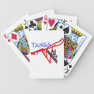 Tanga zorro póquer baraja