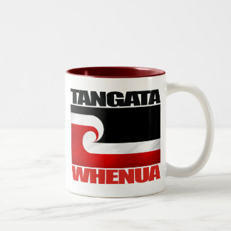 Tangata Whenua Tazas De Café