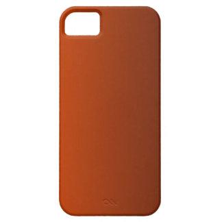 Tangelo a la pendiente de la vertical de Brown de iPhone 5 Protectores