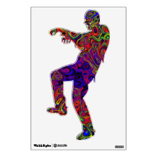 Tangents Zombie Wall Cover Wall Sticker