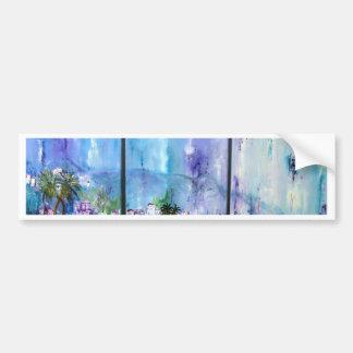Tanger Beautiful Landscape Bumper Sticker