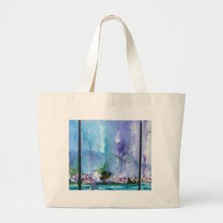 Tanger Beautiful Landscape Tote Bags