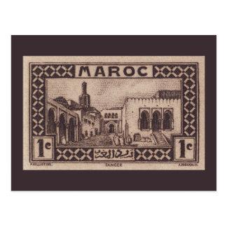 Tánger Marruecos - postal