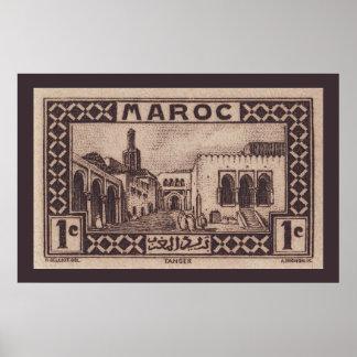 Tánger, Marruecos - poster Póster