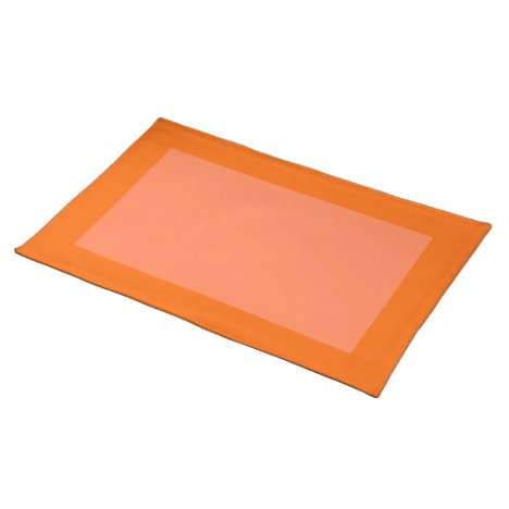 Tangerine and Coral Placemat