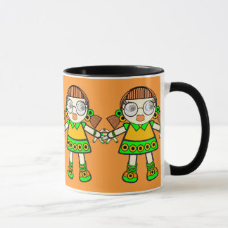 tangerine baby.. mug