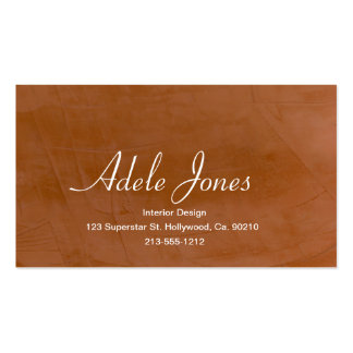 Tangerine Business Card Templates