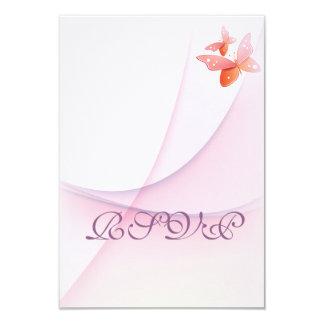 Tangerine Butterfly Card