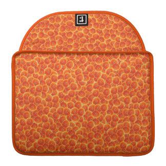 Tangerine Citrus MacBook Pro Sleeves