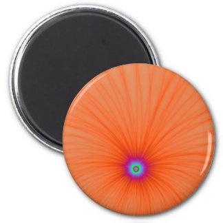 Tangerine Color Explosion Magnet
