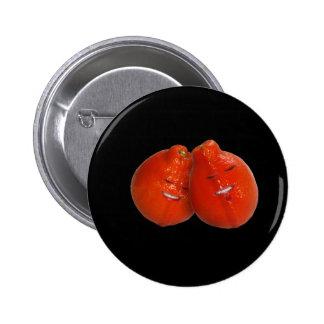 Tangerine Couple (Orange you in love, too?) Pins