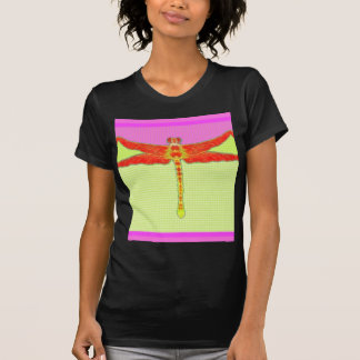 Tangerine Dragonfly Girly Pink Gifts by Sharles Tshirt