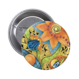 Tangerine Dreams Buttons