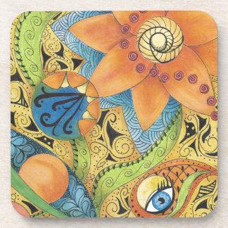 Tangerine Dreams Coaster