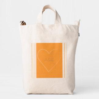 Tangerine Heart Collection Favor Bag