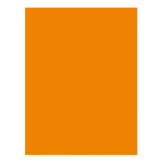 Tangerine hex code F28500 Postcard
