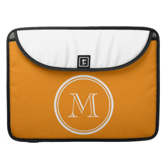 Tangerine High End Colored Sleeve For MacBook Pro