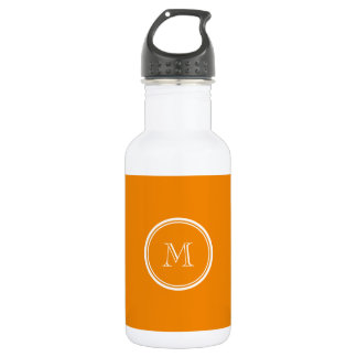 Tangerine High End Colored Water Bottle