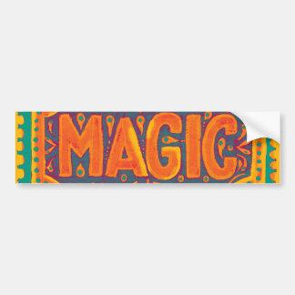 Tangerine Magic Bumper Sticker
