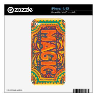 Tangerine Magic iPhone 4 Decal