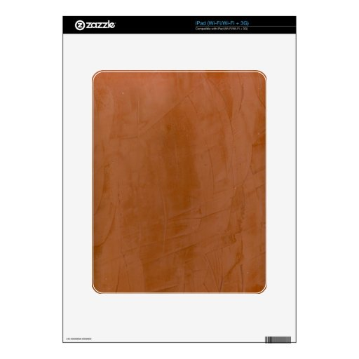 Tangerine Marble Decal For The iPad