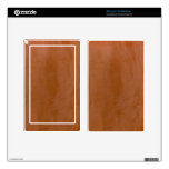 Tangerine Marble Decals For Kindle Fire