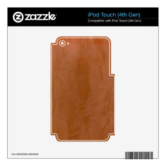 Tangerine Marble Skin For iPod Touch 4G