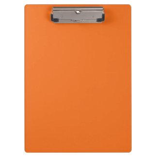 """Tangerine Orange"" Clipboard"