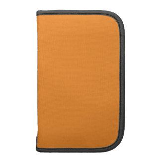 Tangerine Orange template to personalize Customize Organizer