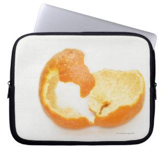 Tangerine peel laptop sleeves