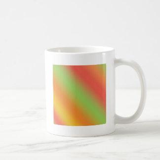Tangerine Rainbow Classic White Coffee Mug