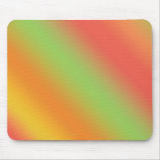 Tangerine Rainbow Mouse Pad