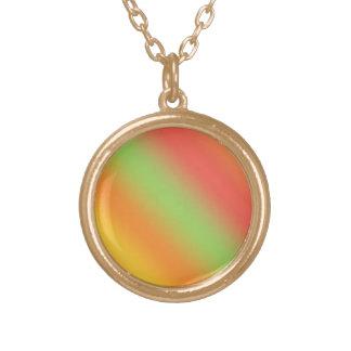 Tangerine Rainbow Necklace